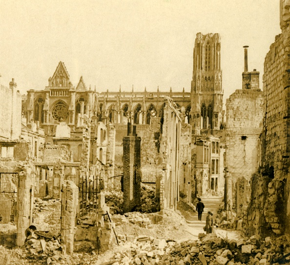 Cathedral「Reims Cathedral」:写真・画像(1)[壁紙.com]