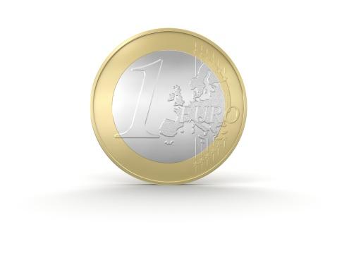 European Union Coin「One Euro Coin」:スマホ壁紙(19)