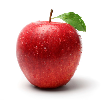 Apple - Fruit「Red Apple with Droplet」:スマホ壁紙(4)