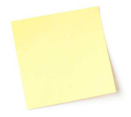 Adhesive Note「Blank note」:スマホ壁紙(0)