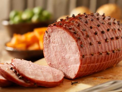 Glazed Food「Honey Glazed Ham」:スマホ壁紙(11)