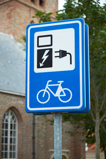 Electronics Industry「Indicating label for electric bicycle」:スマホ壁紙(6)