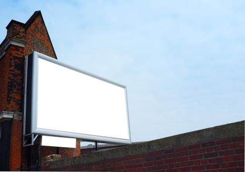 Brick Wall「a blank billboard」:スマホ壁紙(13)