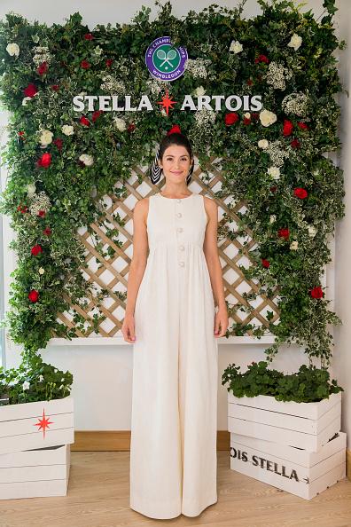 Gemma Arterton「Joie de Biere At The Wimbledon Championships With Stella Artois」:写真・画像(4)[壁紙.com]