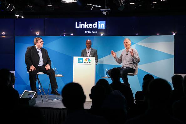 Kelly public「LinkedIn Debate Featuring Reid Hoffman & Tim O'Reilly」:写真・画像(8)[壁紙.com]