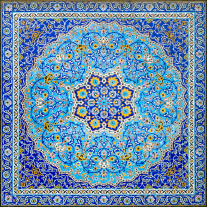 Iranian Culture「Iranian Tile Decor」:スマホ壁紙(7)