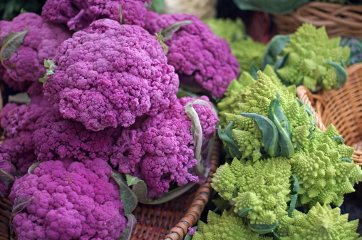 Agricultural Fair「Purple and Romanesco Cauliflower」:スマホ壁紙(8)