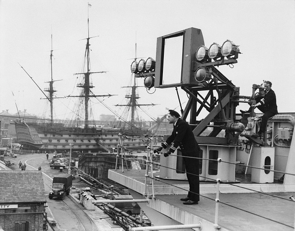 Boat Deck「HMS Victorious And HMS Victory」:写真・画像(3)[壁紙.com]