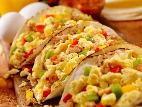 Tortilla - Flatbread「Breakfast Taco」:スマホ壁紙(1)