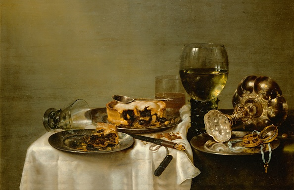 Dining Room「Breakfast table with bramble-pie, Still-life」:写真・画像(8)[壁紙.com]