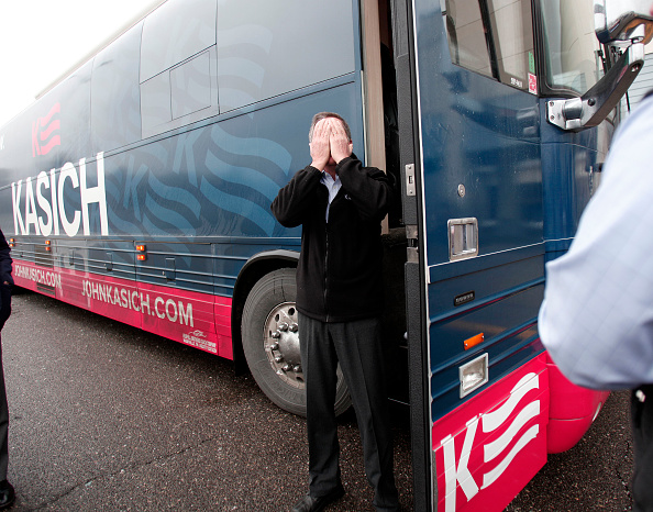 オハイオ州「GOP Presidential Candidate John Kasich Holds Town Hall In Michigan」:写真・画像(10)[壁紙.com]