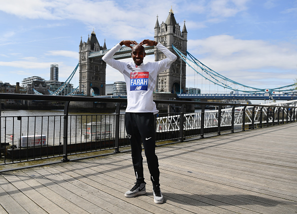 Mo Farah「Mo Farah Press Conference - Virgin Money London Marathon」:写真・画像(1)[壁紙.com]