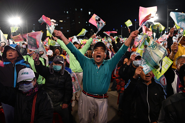 Taiwan「Tsai Ing-wen Campaigns as Taiwan Election Approaches」:写真・画像(14)[壁紙.com]