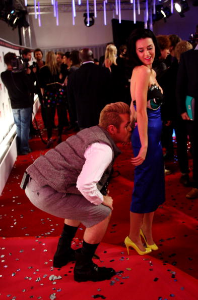 Fun「MTV Europe Music Awards 2008 - Perez Hilton Red Carpet Interviews」:写真・画像(9)[壁紙.com]
