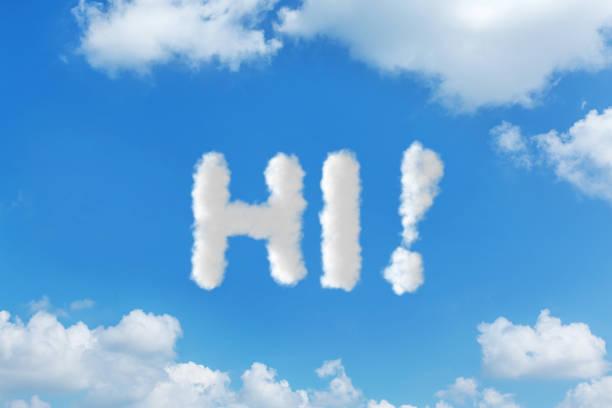 Cloud-sky text message concepts writing:スマホ壁紙(壁紙.com)