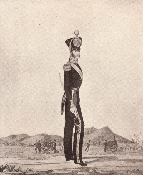 Copy Space「'Officers Of The Madras Army (Foot Artillery)', 1841 (1909)」:写真・画像(2)[壁紙.com]