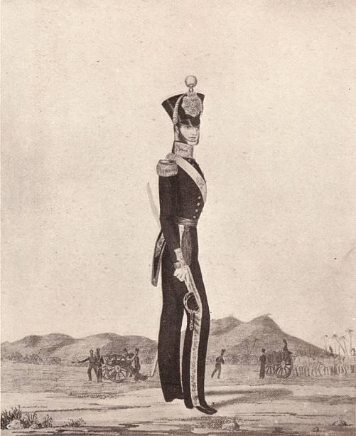 'Officers Of The Madras Army (Foot Artillery)', 1841 (1909):ニュース(壁紙.com)