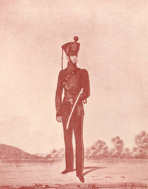 'Officers Of The Madras Army (Rifles)', C1837-1843, (1909):ニュース(壁紙.com)