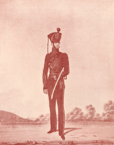 Copy Space「'Officers Of The Madras Army (Rifles)', C1837-1843, (1909)」:写真・画像(11)[壁紙.com]