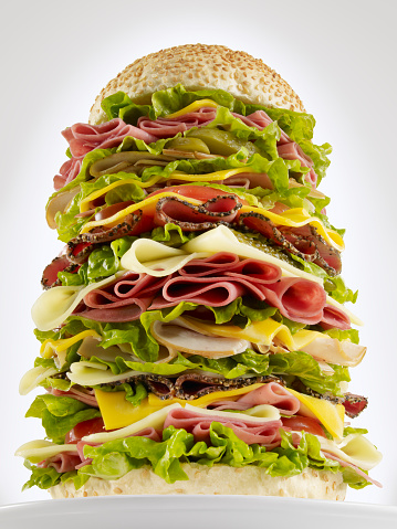 Plate「Huge Hamburger」:スマホ壁紙(14)