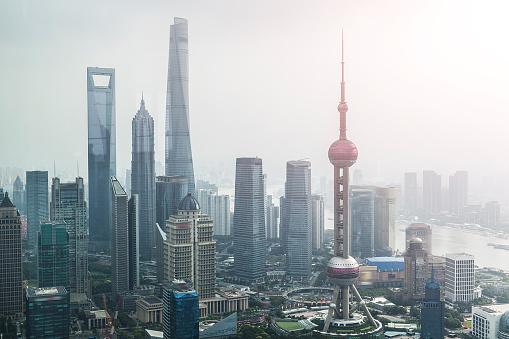 月「Shanghai urban landscape」:スマホ壁紙(18)