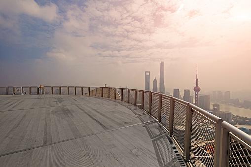月「Shanghai urban landscape」:スマホ壁紙(17)