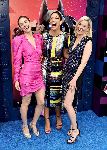 "Three People「Premiere Of Warner Bros. Pictures' ""The Lego Movie 2: The Second Part"" - Arrivals」:写真・画像(18)[壁紙.com]"