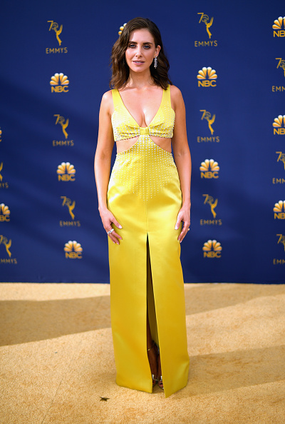 Alison Brie「70th Emmy Awards - Arrivals」:写真・画像(15)[壁紙.com]