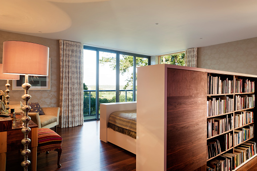 Lamp Shade「New build home of interior designer Jemima Withey」:スマホ壁紙(1)