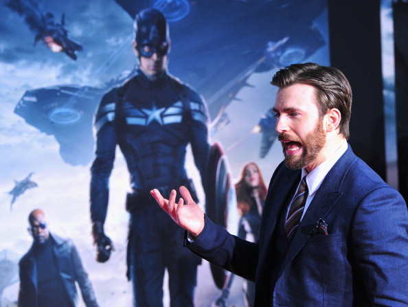 "Captain America「Premiere Of Marvel's ""Captain America: The Winter Soldier"" - Arrivals」:写真・画像(1)[壁紙.com]"