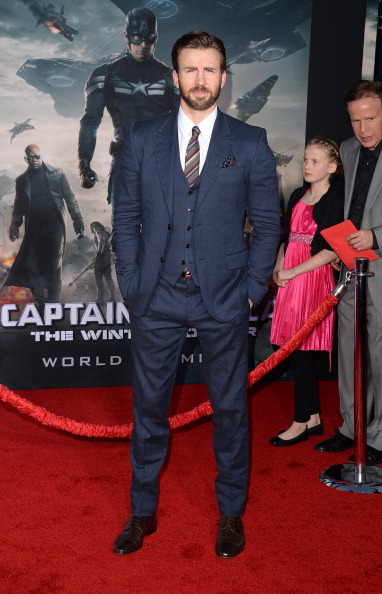 俳優「Premiere Of Marvel's 'Captain America: The Winter Soldier' - Arrivals」:写真・画像(15)[壁紙.com]