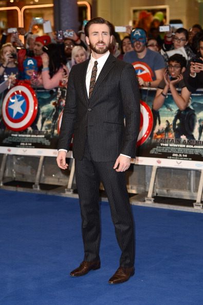 "Captain America「""Captain America: The Winter Soldier"" - UK Film Premiere - Red Carpet Arrivals」:写真・画像(4)[壁紙.com]"
