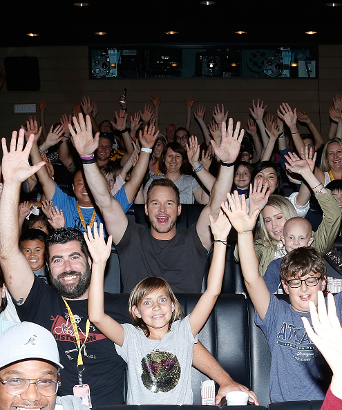 ミッドタウンマンハッタン「Jurassic World: Fallen Kingdom Screening With Chris Pratt」:写真・画像(15)[壁紙.com]