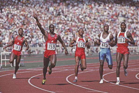 100 Meter「XXIV Olympic Summer Games」:写真・画像(13)[壁紙.com]