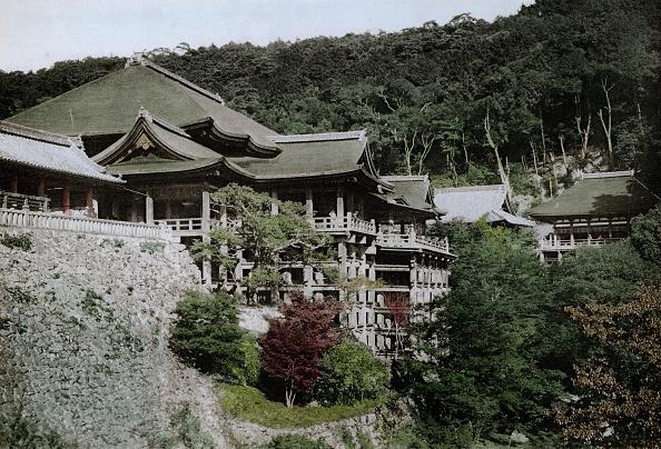 Spencer Arnold Collection「Kiyomizu-Dera Temple」:写真・画像(17)[壁紙.com]