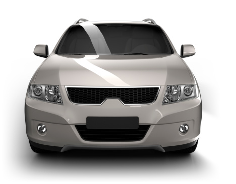 Motor Vehicle「SUV Car in studio - isolated / clipping path」:スマホ壁紙(14)