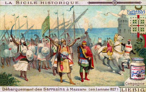 Illustration「History of Sicily: Arrival of Arabs in Mazara del Vallo」:写真・画像(17)[壁紙.com]