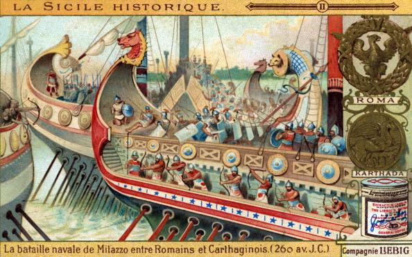 Ancient Civilization「History of Sicily: Battle of Mylae, 260  BC」:写真・画像(17)[壁紙.com]
