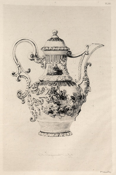 Etching「History Of The Ceramic Art: A Descriptive And Philosophical Study Of The Pottery?(Plate Xii)」:写真・画像(9)[壁紙.com]
