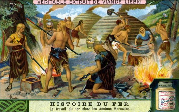 Iron - Metal「History of Iron: Ironwork by Ancient Germans」:写真・画像(2)[壁紙.com]