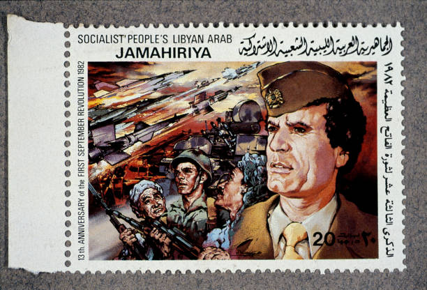 Painted Image「National Portraiture Of A Libyan Leader」:写真・画像(9)[壁紙.com]