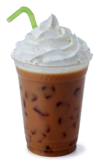 Drinking Straw「Iced Mocha Coffee with Whipped Cream」:スマホ壁紙(11)