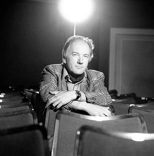 作家「Austrian author Thomas Bernhard. Akademietheater. Vienna. Photograph. 1976」:写真・画像(0)[壁紙.com]