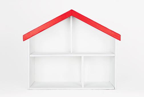 Digital Composite「Empty dollhouse」:スマホ壁紙(19)