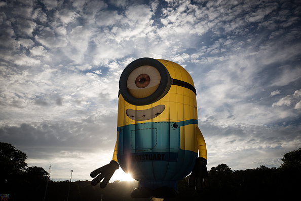 Shape「Balloonists Take To The Skies For The Bristol International Balloon Fiesta」:写真・画像(19)[壁紙.com]