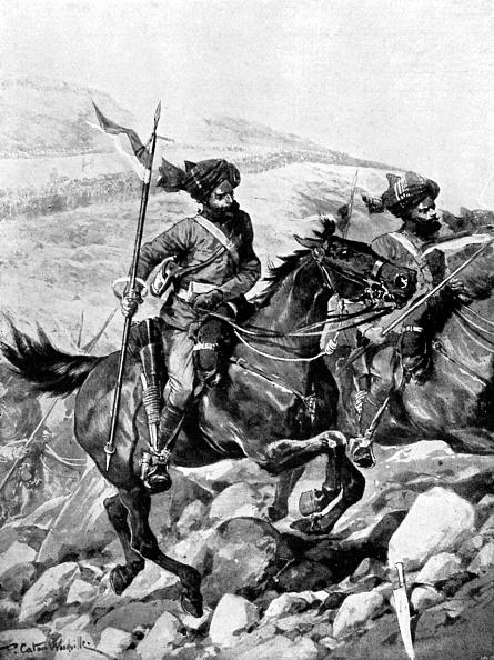 Recreational Horseback Riding「Bengal Lancers of the British India Army」:写真・画像(3)[壁紙.com]