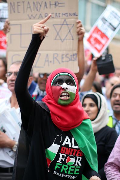 Oli Scarff「Israeli Embassy Demonstration In London」:写真・画像(6)[壁紙.com]
