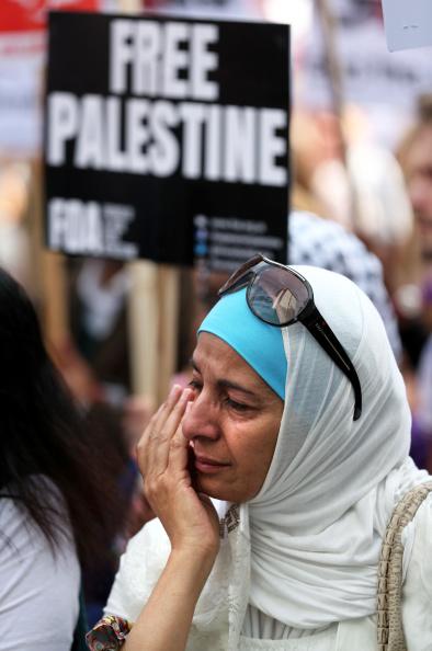 Oli Scarff「Israeli Embassy Demonstration In London」:写真・画像(1)[壁紙.com]