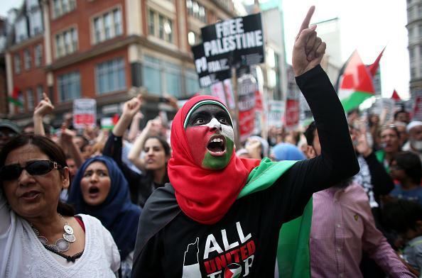 Oli Scarff「Israeli Embassy Demonstration In London」:写真・画像(8)[壁紙.com]