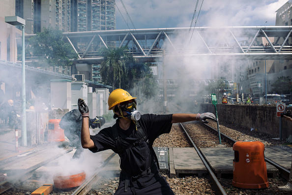 Hong Kong「Unrest In Hong Kong During Anti-Extradition Protests」:写真・画像(19)[壁紙.com]